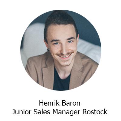 Küstenfischer.de – Henrik Baron Junior Sales Manager Rostock