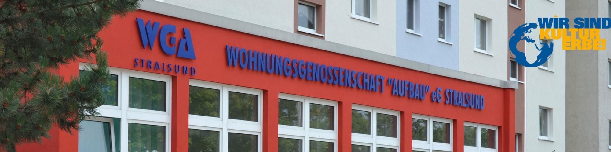 """Wohnungsgenossenschaft """"Aufbau"""" eG Stralsund"""