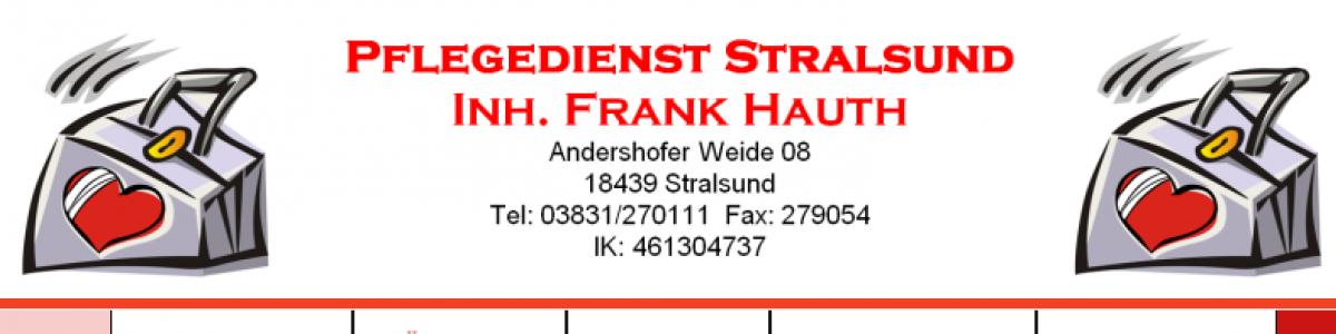 Pflegedienst Stralsund Inh. Frank Hauth cover